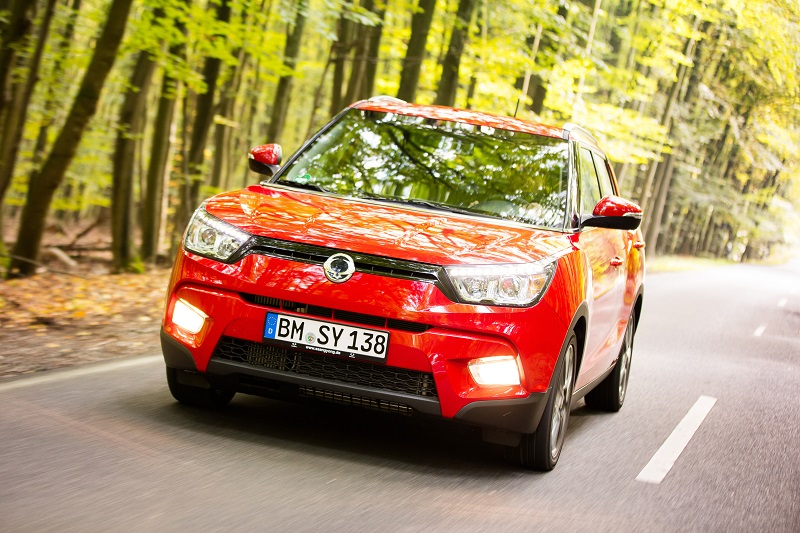 The all-wheel drive SsangYong Tivoli diesel