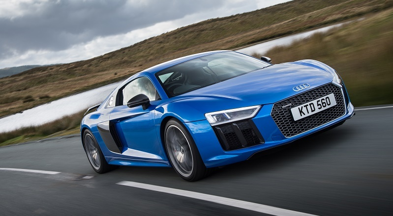The 205mph Audi R8 V10 Plus is 50kg lighter