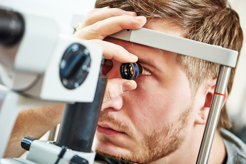 Eyesight examination - company drivers must be fit to drive