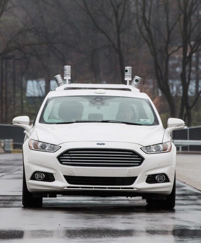 automated cars Ford Fusion Hybrid autonomous research vehicle