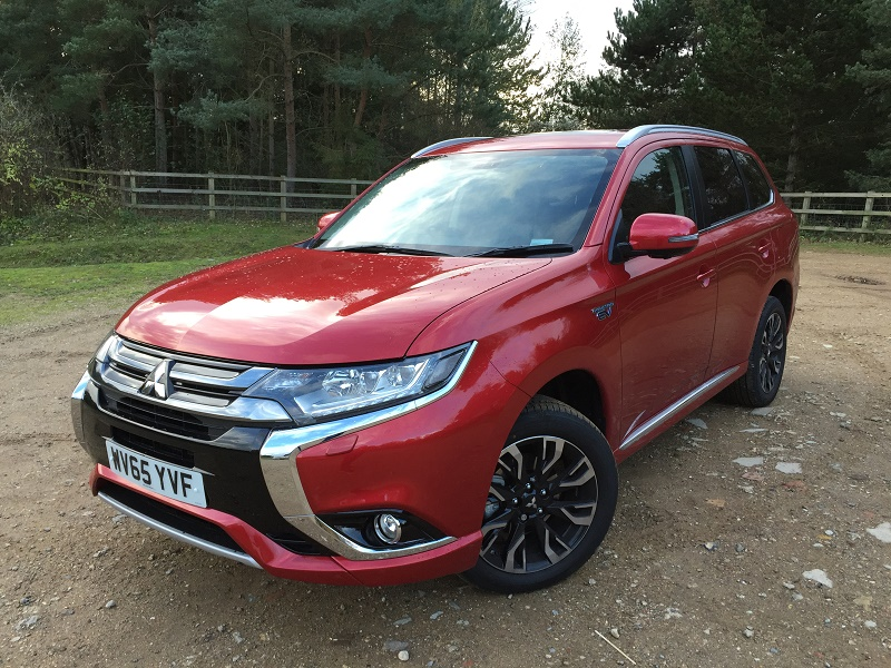 More refined with lower emissions - the new Mitsubishi Outlander PHEV