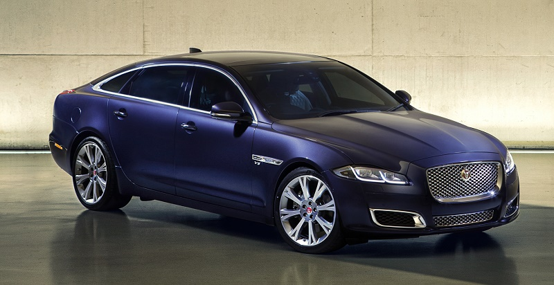 The 2016 Jaguar XJ Autobiography flagship