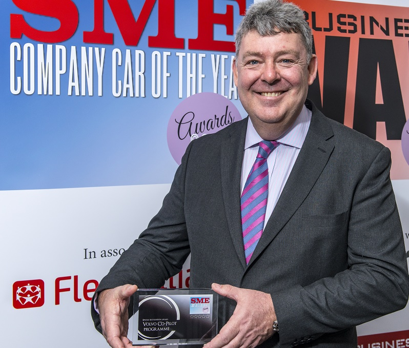 Selwyn Cooper, head of business sales, Volvo - Special Recognition Award