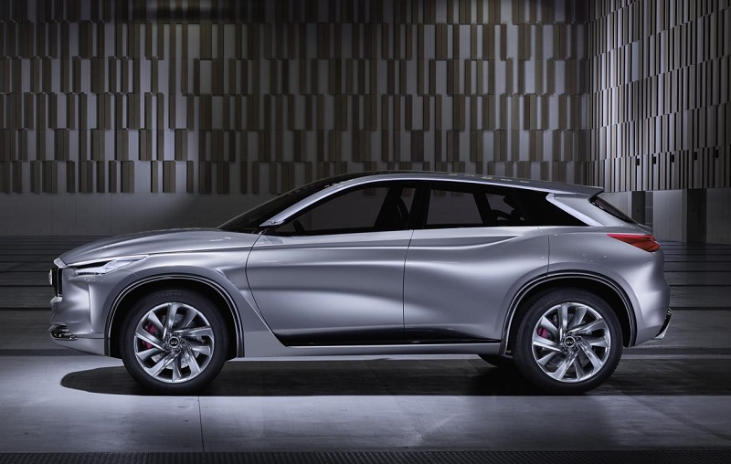 Wraps off - the Infiniti Sport Inspiration mid-sized SUV concept