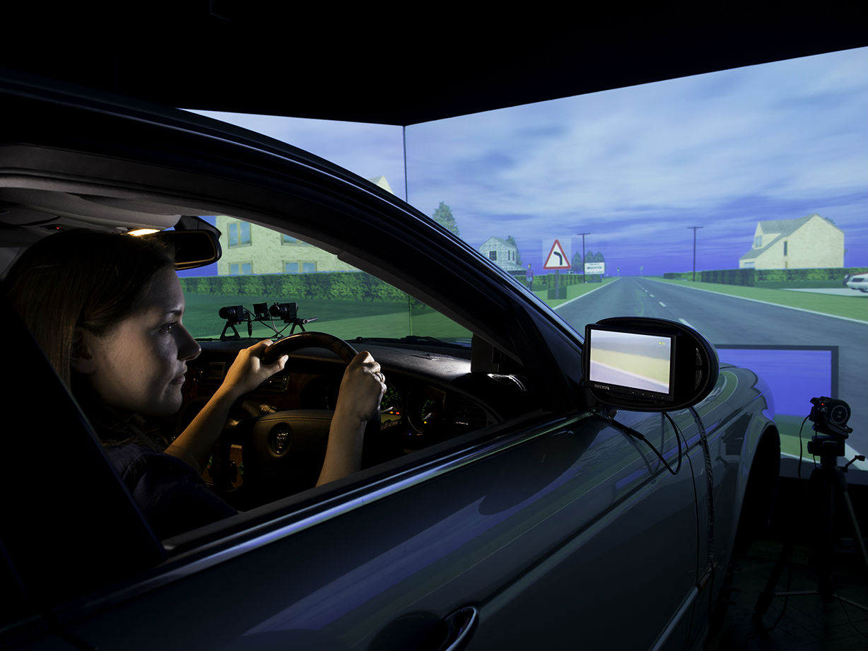 Southampton driving simulator a study into the perceptions of automated vehicles