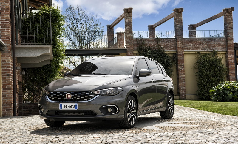 Fiat Tipo badge returns