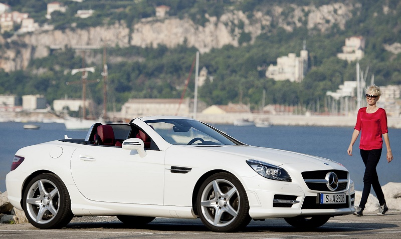 The Mercedes SLK was 5th of the top 5 best convertibles for fuel economy
