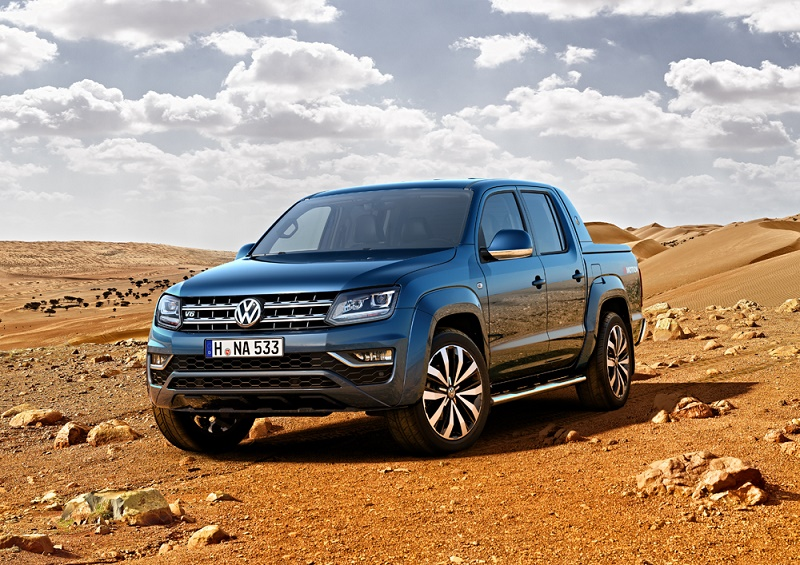 The facelifted new Amarok arriving later this year with 224PS 3.0 V6