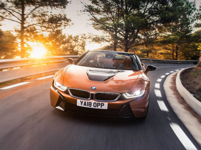 BMW i8 image for applying VAT fuel scale charges