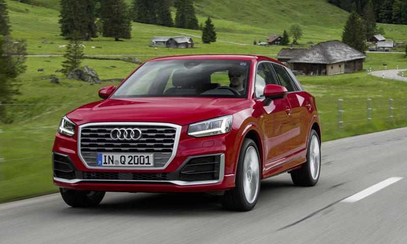 The new Audi Q2 compact SUV