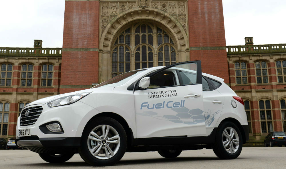 hydrogen Hyundai has its eco-driving debut