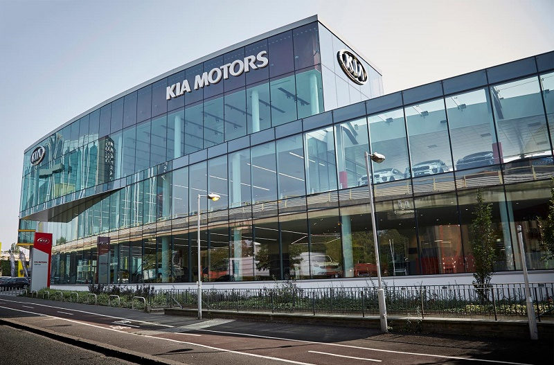Kia's European flagship dealer