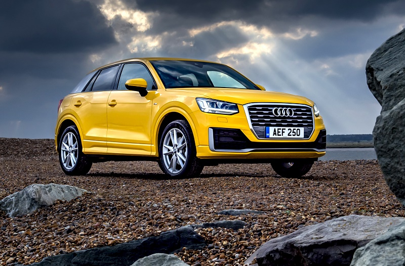 The new Audi Q2 SUV priced from £22,230