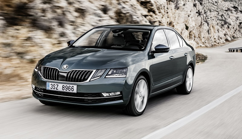 face-lifted Skoda Octavia