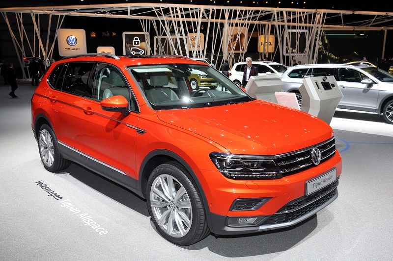 a seven-seater version of its popular SUV - and the Tiguan Allspace
