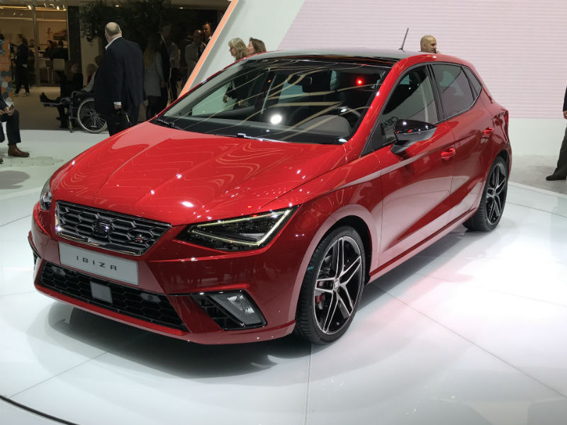 The all-new fifth-generation SEAT Ibiza