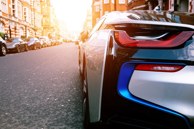 BMW i8 in London