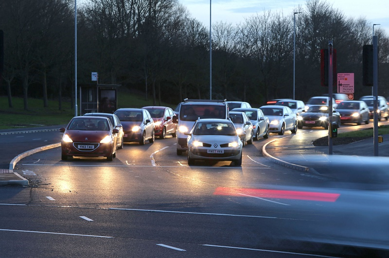 Traffic stock twilight _ credit Robert Peel