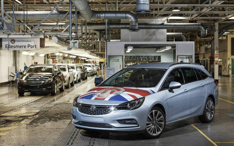 Vauxhall Astra Sports Tourer made at Ellesmere Port