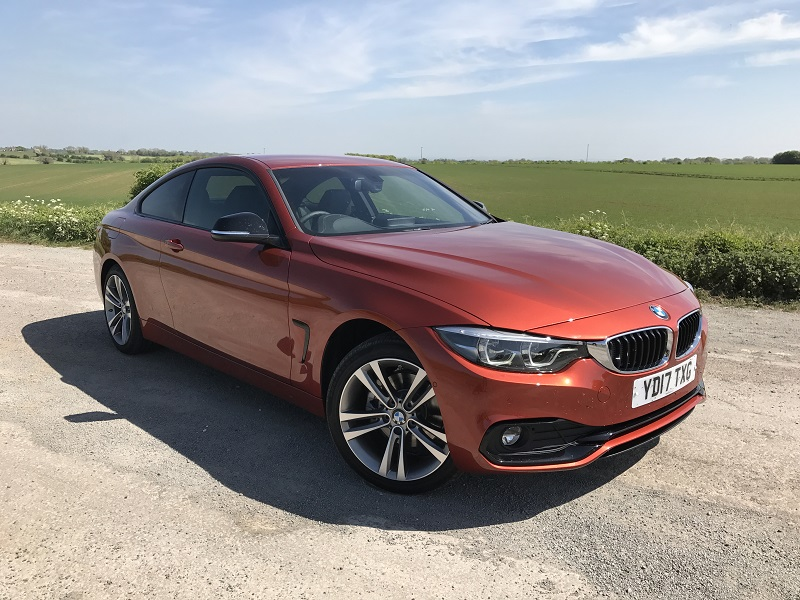 BMW 420d XDrive frontal