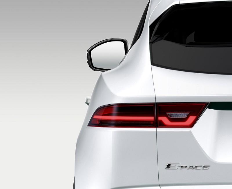 Jaguar E Pace tease