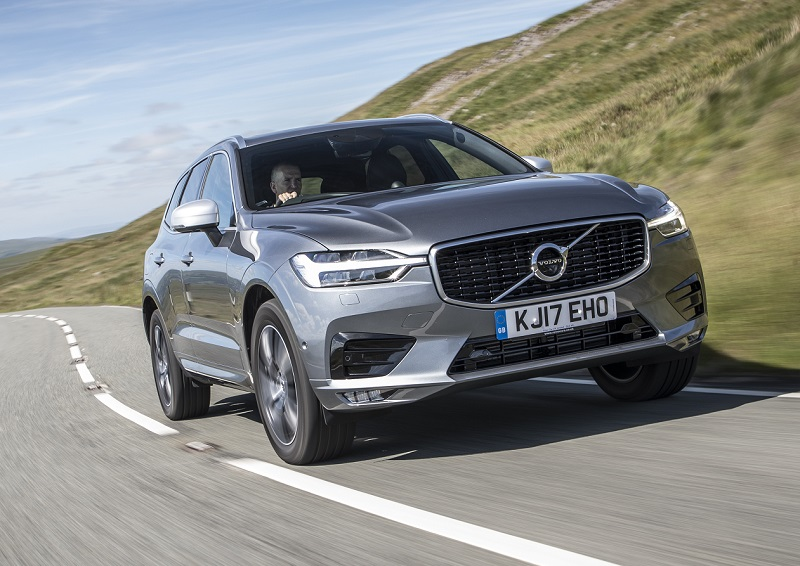 Volvo XC60 review front dynamic