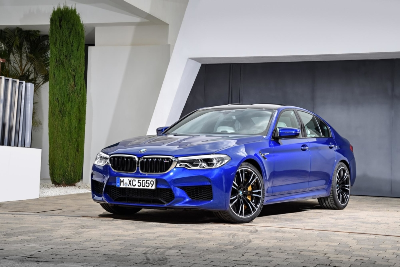New BMW M5 Saloon