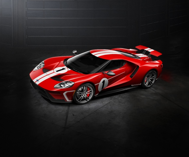 New Ford GT Heritage edition