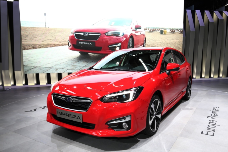 New Subaru Impreza Hatchback at Frankfurt motor show 2017