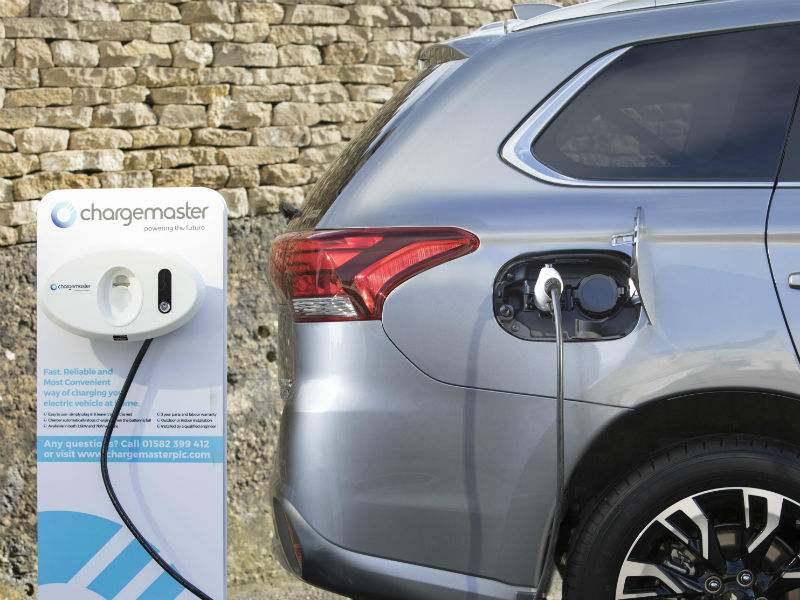 ArE PHEVS as green as we thought - OUTLANDER being charged