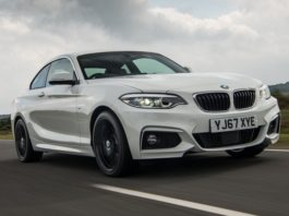BMW 220d 67 plate front dynamic level