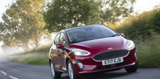 Ford All New Fiesta 17 plate