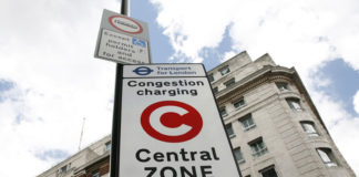 London Congestion Charge_sign