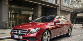 Mercedes Benz E Class saw sales rise in October 2017