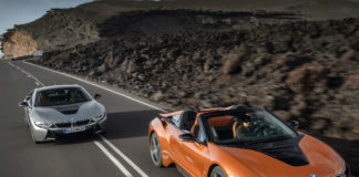 New BMW i8 Roadster and updated i8 Coupe