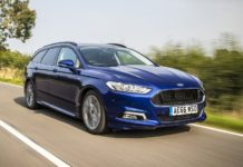 Mondeo ST Line estate dynamic