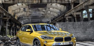 BMW X2 frontal static