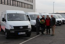 Maxus EV80 German fleet deal