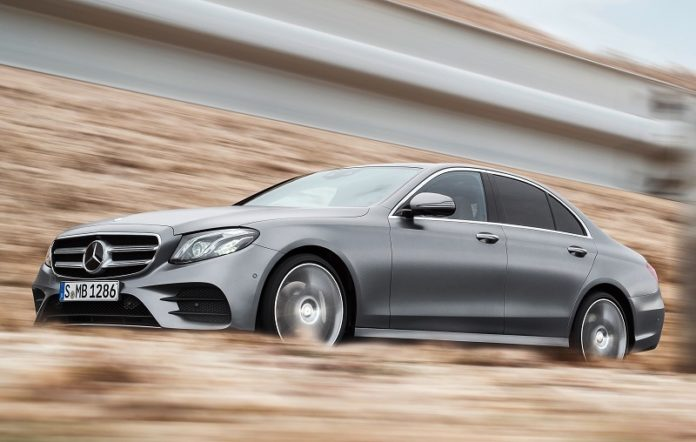 The new Mercedes E-Class