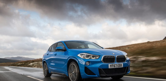 bmw x2 action header