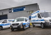 marshall fleet solutions vans