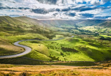 snake pass UK best driving road
