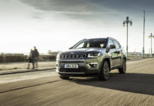 Jeep Compass SUV with automatic transmission