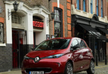 Renault Zoe electric vehicle
