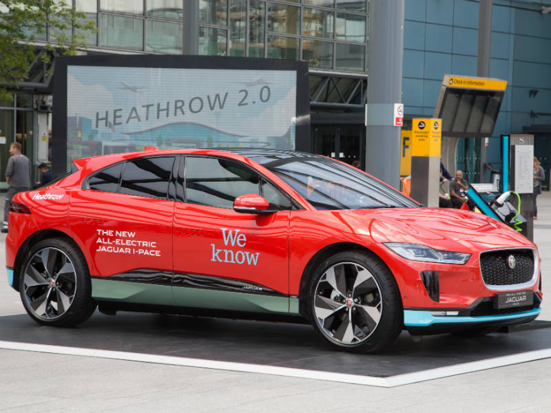 200 Jaguar I-Pace electric cars for Heathrow Chauffeur fleet