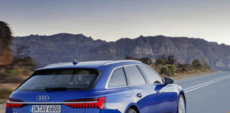 Audi A6 Avant features mild hybrid technology