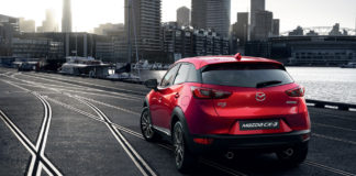 Mazda-CX-3: strong visual impact makes this compact SUV really stand out