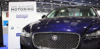 jaguar london motor show business car manager