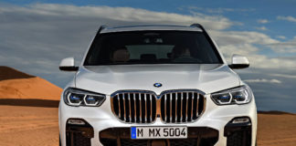 Al new BMW X5 front on