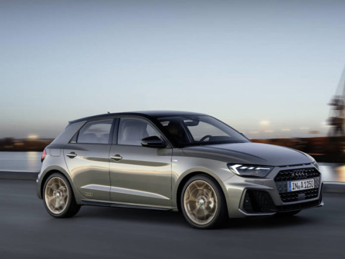 The new five-door Sportback only A1  features dynamic new styling with touches of classic Audi detailing